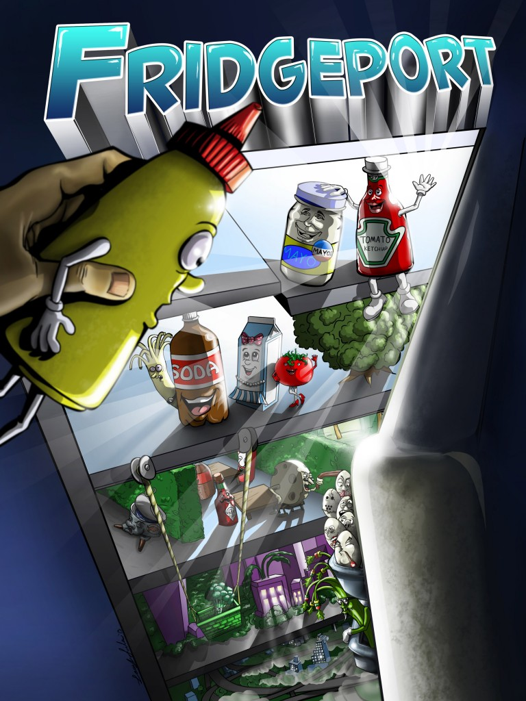 Promotional Poster for Animated Series