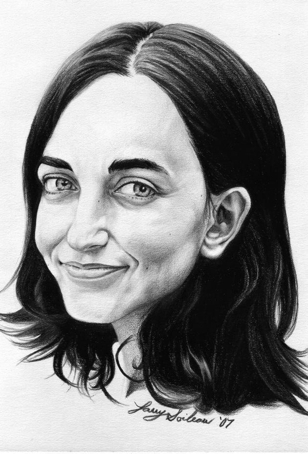 Iskra Black & White Portrait