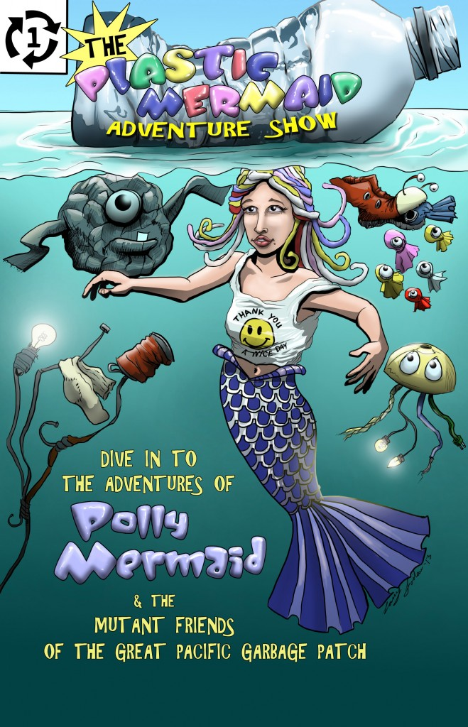 Pollymermaid Poster